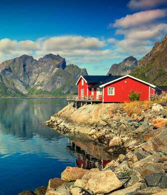 Tag på kør-selv ferie med hele familien i smukke Norge