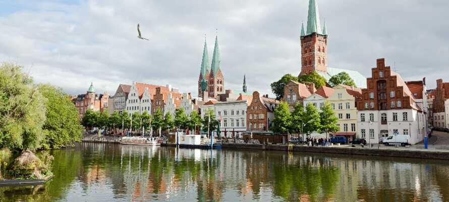 Besøg den gamle nordtyske hansestad, Lübeck, med den fantastiske historie.