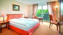 Hotellets værelser tilbyder et skøn 4-stjernet komfortniveau med god plads og behagelige senge