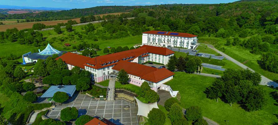 Victor's Residenz Hotel Teistung er et moderne hotel, som ligger i rolige omgivelser.