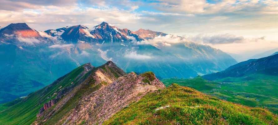Oplev det smukke landskab omkring Großglockner, Østrigs højeste bjerg
