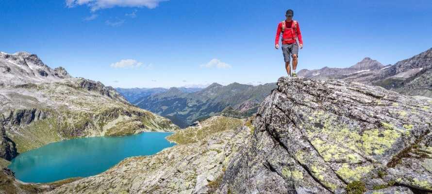Ikke langt fra hotellet finder I Hohe Tauern National Park med sit fremragende landskab