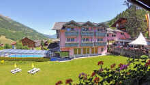 Hotel Margarethenbad ligger i Tyrol omgivet af skøn natur
