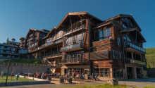 Hotellets indendørs pool