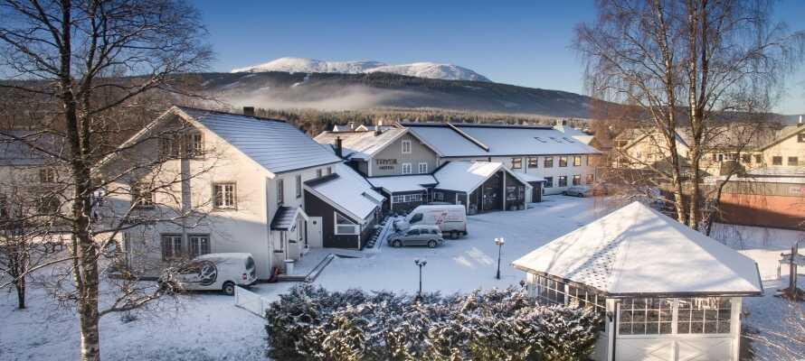 Oplev et norsk vintereventyr i hjertet af landets største skisportssted.