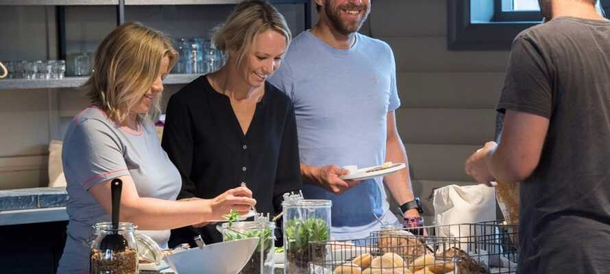 Start dagen godt med morgenmad på bageriet Kort & Godt.