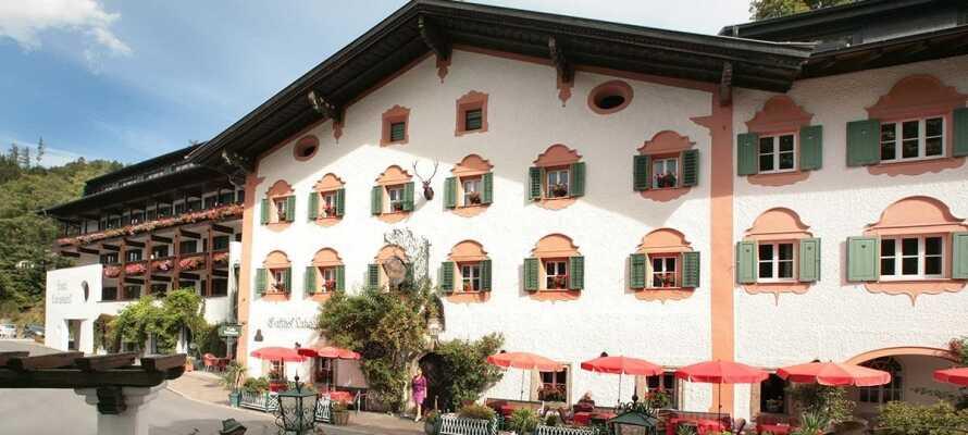I bor på traditionelt hotel med den helt rigtige stemning af Østrig!