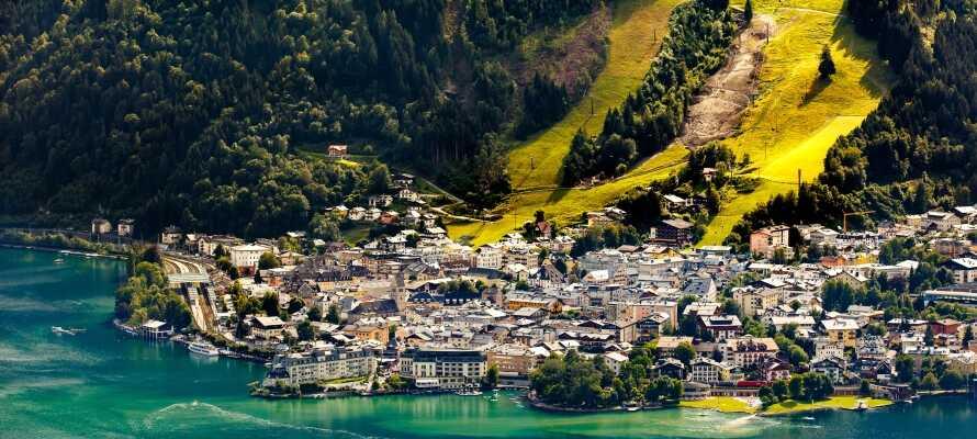 Lidt nord for hotellet finder I Zell am See, som er et naturskønt område og en populær feriedestination.