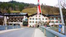 Hotel-Gasthof Lukashansl har en idyllisk beliggenhed i Nationalpark Hohe Tauern
