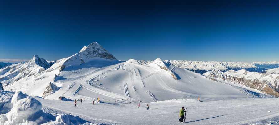 Zillertal byder på pragtfulde skiområder, hvor I kan boltre Jer på de mange løjper.