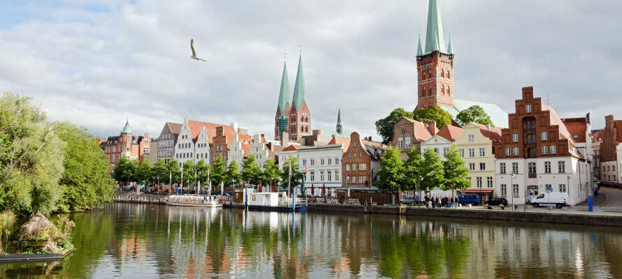 Besøg hansestaden Lübeck, med den gamle bydel, som er på UNESCO's liste over verdens kulturarv