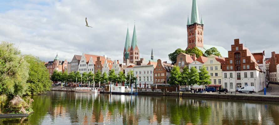 Besök hansastaden vars gamla stadsdel är på UNESCO's lista över världskulturarv.