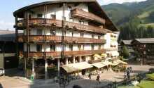 Hotellet ligger i skønne omgivelser i det østrigske bjergområde, Saalbach
