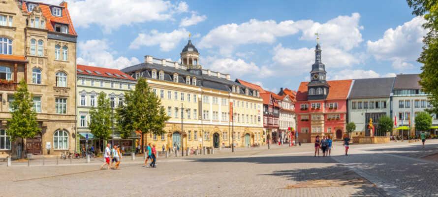 Udforsk Eisenach, som er ét af Thüringens absolutte højdepunkter når det kommer til kultur.