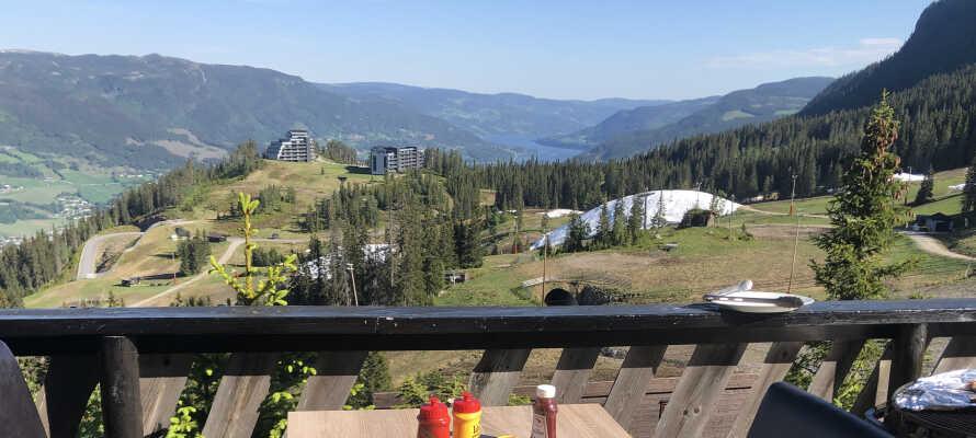Nyd den fantastiske panoramaudsigt fra hotellet.