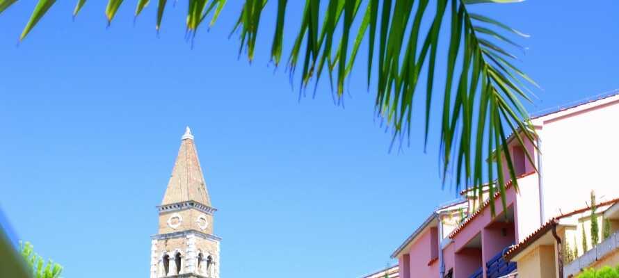 Portoroz er en lille hyggelig ferieby, som byder på masser af kultur og natur.