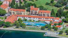Hotel Vile Park har en skøn beliggenhed ud til Adriaterhavet på Sloveniens sydvestlige kyst