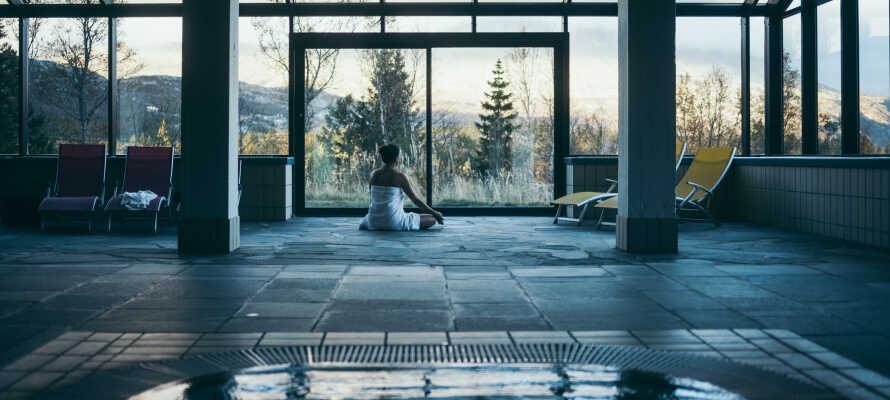 I har fri adgang til hotellets wellnessafdeling med opvarmet pool, boblebad, sauna og dampbad. Prøv også en af de flydende saunaer!