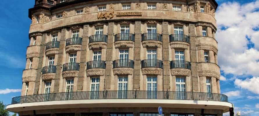 I finder det smukke hotel Victor's Residenz-Hotel Leipzig ligger i hjertet af Leipzig, som byder på masser af seværdigheder.
