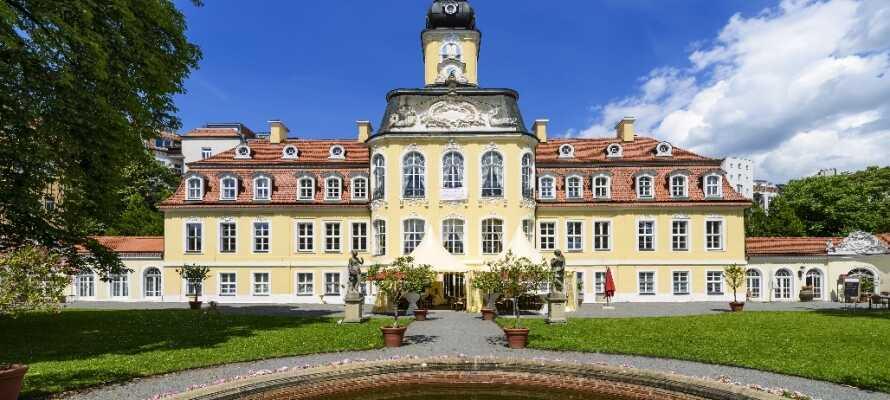 Gohlis-slottet er en arkitektonisk perle, der blev konstrueret som borgerskabets sommerresidens i midten af det 18. århundrede.