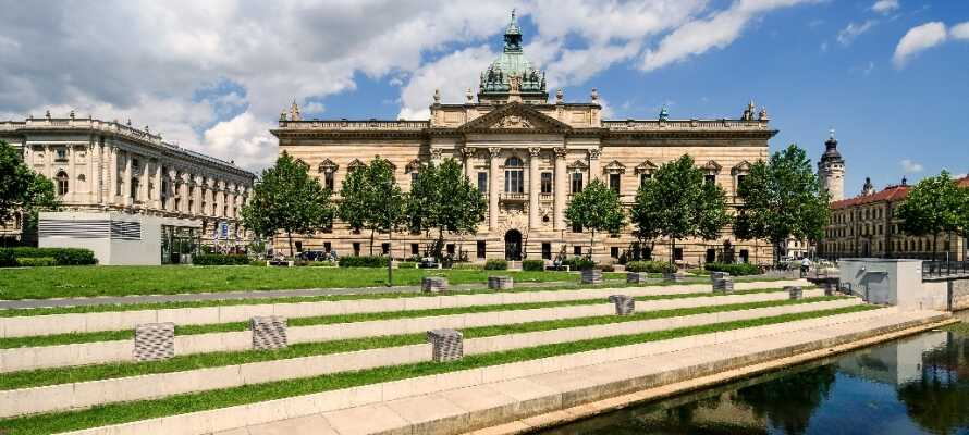 Leipzig er fyldt med smukke gamle bygningsværker. Tag f.eks. turen forbi den flotte retsbygning.