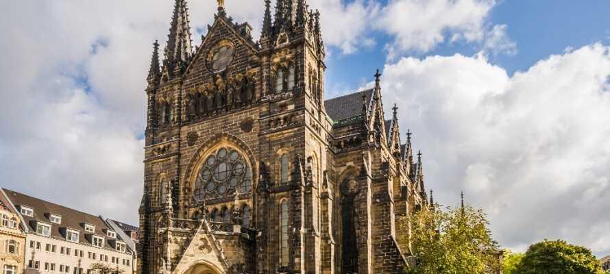 I Leipzig finder I flere forskellige kirker, som alle er utroligt smukke bygningsværker, hver med deres historie.