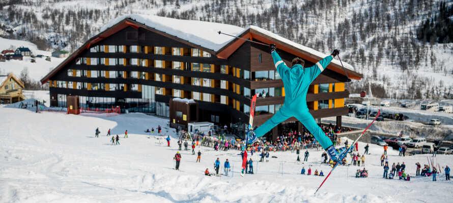 Myrkdalen Hotel er et flott sted å dra på skiferie med familien.