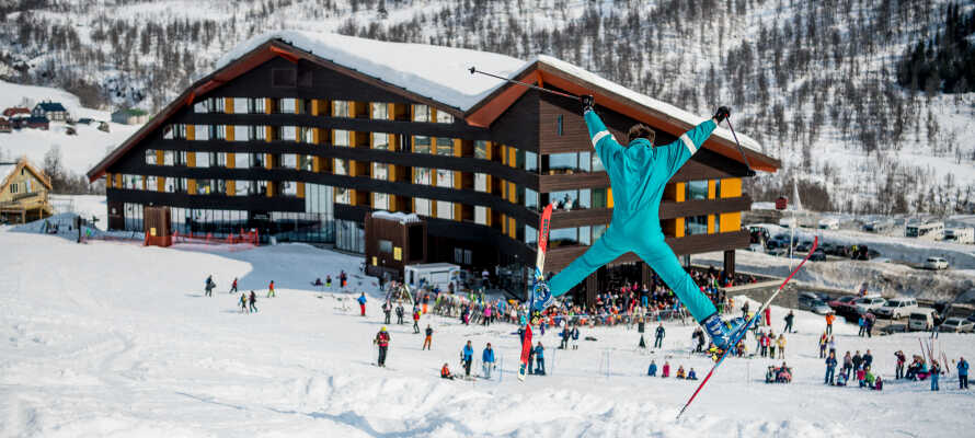 Myrkdalen Hotel er et skønt sted at holde skiferie med familien.