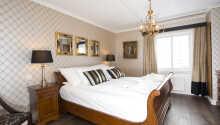 Et annet eksempel på et av hotellets dobbeltrom.