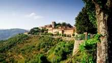 Hotel Massimo D'Azeglio har en god placering midt i den smuke kurby, Montecatini Terme