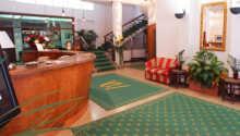Slap af i receptions- og lobbyområdet