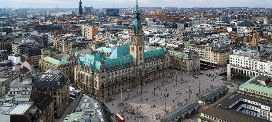 Hvis I trænger til at opleve en rigtig storby, så er Hamburg stedet.