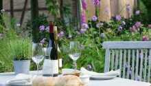 På hotellet kan I nyde et spændende udvalg af vine