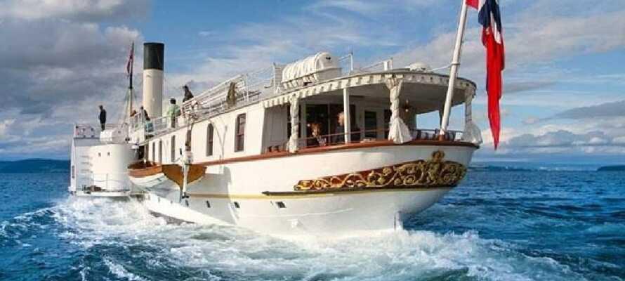 Gå ikke glip af en tur ombord på ´Skiblandneren´, som også er verdens ældste operative hjuldamper.