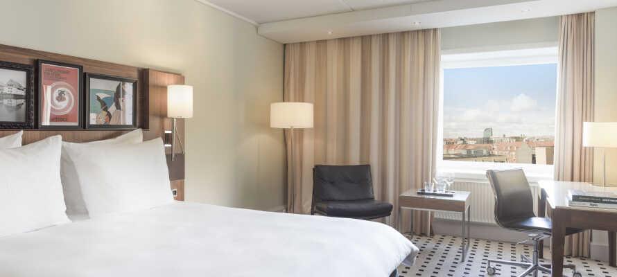 Hotellets værelser er lækre og stilfulde. Opgradér til High Floor Superior værelse for ekstra forkælelse.