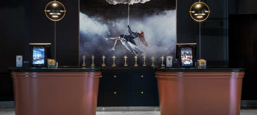 Bo på ét af Aarhus' ypperste hoteller, hvor design, kvalitet og komfortniveau er helt i top.