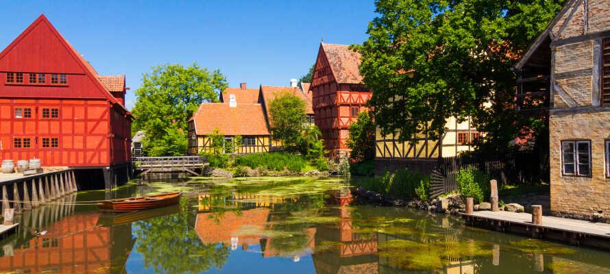 Tag på en tidsrejse i Den Gamle By, en tidsrejse for hele familien i en helt unik seværdighed i Aarhus.