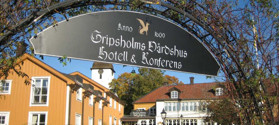 Bo på Sveriges äldsta värdshus, med ett fantastiskt läget i pittoreska Mariefred.