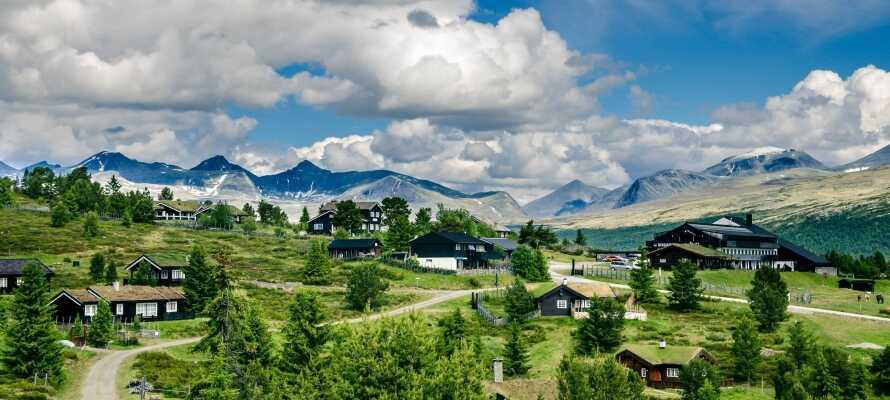Hotel Rondablikk er et typisk fjellhotell med en vakker beliggenhet ved Rondane nasjonalpark.