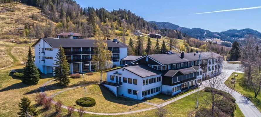 Morgedal Hotel har en suveræn placering midt i Telemarks fantastiske natur.