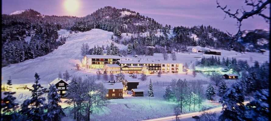 Tag på alletiders skiferie i hjertet af Telemark, med et 4-stjernet ophold på det historiske Morgedal Hotel.