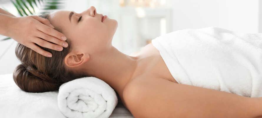 Nyd en tiltrængt massage eller spabehandling efter en dag med masser af skioplevelser.