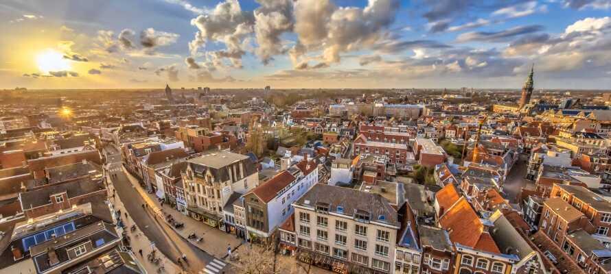 Oplev en af Hollands smukkeste storbyer, Groningen!