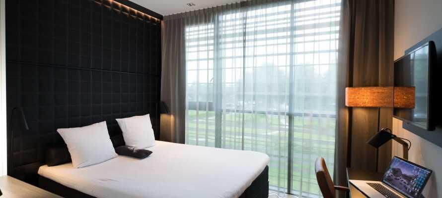 Værelserne tilbyder god plads, gratis kaffe- og tefaciliteter og eget badeværelse på et skønt 4-stjernet komfortniveau