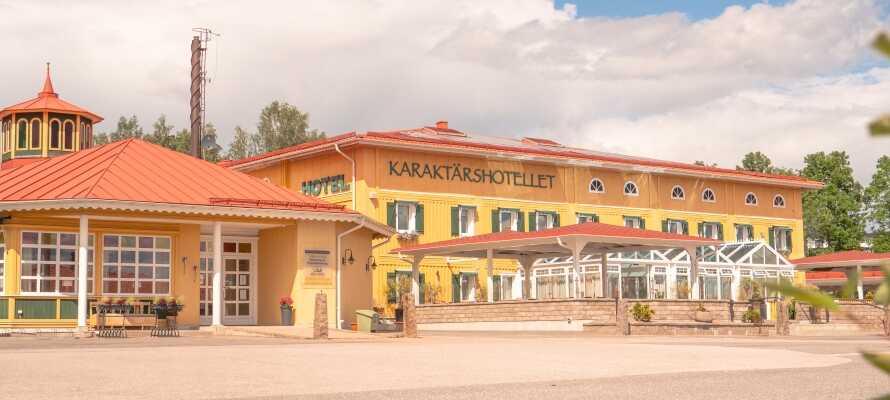 Karaktärshotellet er et 4-stjernet familiedrevet hotel med fokus på service, kvalitet og gæstfrihed. En unik oplevelse!