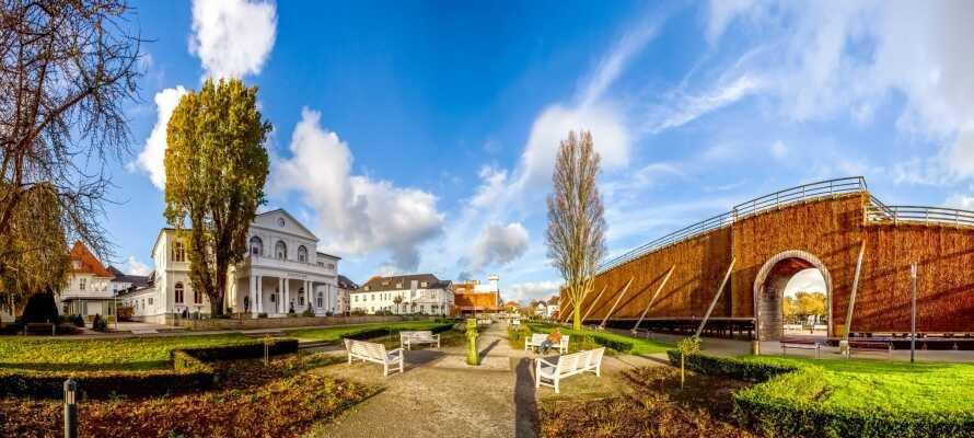 Besøg smukke byer såsom Bielefeld, Porta Westfalica og Bad Salzuflen