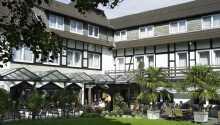 Hotellet ligger i skønne omgivelser i den nordlige del af Teutoburgerskoven