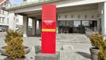 Hotellet ligger ikke langt fra den maleriske havnefront i Haugesund.
