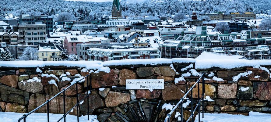 Kristiansand er en smuk og gammel by med masser af spændende historie.
