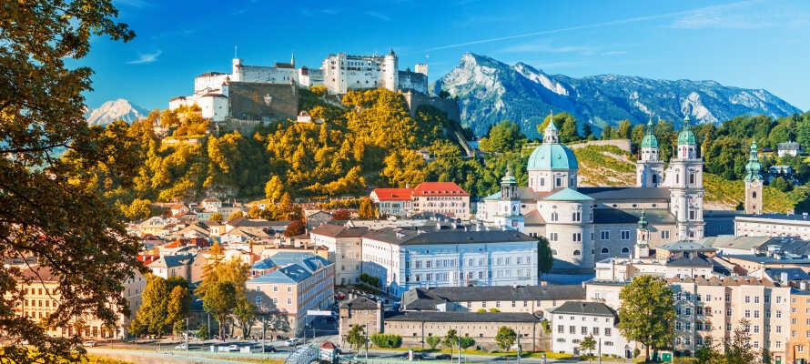 Salzburg er en historisk og yderst kulturrig by og ligger omgivet af smuk natur